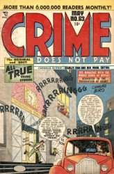 Lev Gleason Publications's Crime Does Not Pay Issue # 63b