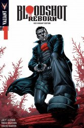 Valiant Entertainment's Bloodshot Reborn Issue # 1four color grails