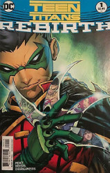 DC Comics's Teen Titans: Rebirth Issue # 1c