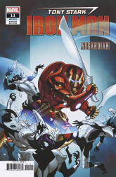 Marvel Comics's Tony Stark: Iron Man Issue # 11b