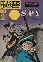 Gilberton Publications's Classics Illustrated #51: The Spy Issue # 1d