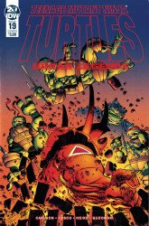 IDW Publishing's Teenage Mutant Ninja Turtles: Urban Legends Issue # 19b