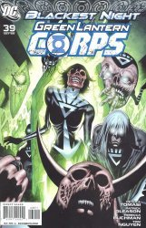 DC Comics's Green Lantern Corps Issue # 39