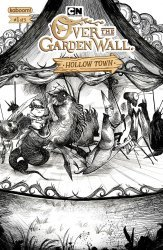BOOM! Studios's Over the Garden Wall: Hollow Town Issue # 1b