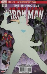 Marvel Comics's Invincible Iron Man Issue # 594