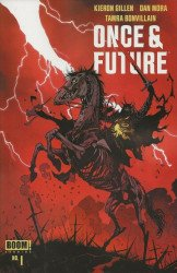 BOOM! Studios's Once & Future Issue # 1 - 3rd print