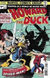 Marvel Comics's Howard the Duck Issue # 1facsimile