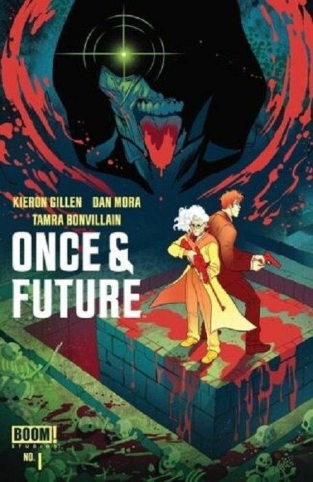 Studios Main Cover NM Once /& Future #1 BOOM