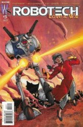 WildStorm's Robotech: Love and War Issue # 3b
