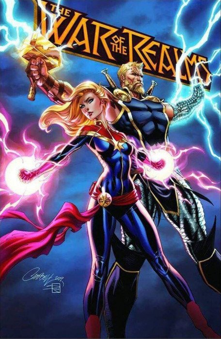 The War Of The Realms #3 2nd Print CVR A Aug, 2019