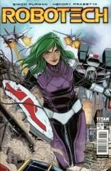 Titan Comics's Robotech Issue # 16c
