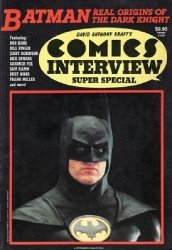 Comics Interview Publications's Comics Interview Super Special: Batman Issue # 1