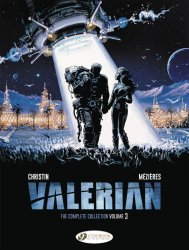 Cinebook's Valerian: The Complete Collection Hard Cover # 3