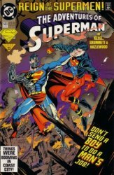 DC Comics's The Adventures of Superman Issue # 503