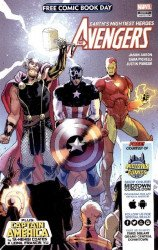 Marvel Comics's Avengers / Captain America: Free Comic Book Day Issue # 1midtown