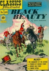 Gilberton Publications's Classics Illustrated #60: Black Beauty Issue # 3