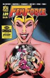AC Comics's Femforce Issue # 189
