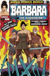 Amigo Comics's Barbara the Barbarian Issue # 3