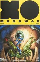 Valiant Entertainment's X-O Manowar Issue # 1nerd block