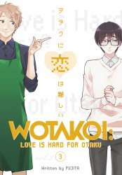 Kodansha Comics's Wotakoi Love Is Hard For Otaku Soft Cover # 3