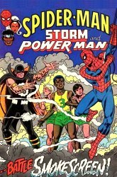 Marvel Comics's Spider-Man, Storm and Power Man Issue # 1b