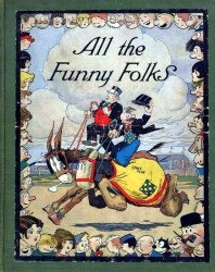 World Press Today, Inc.'s All the Funny Folks Hard Cover # 1