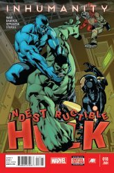 Marvel Comics's Indestructible Hulk Issue # 18