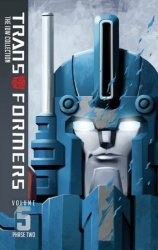 IDW Publishing's Transformers: IDW Collection Phase Two  Hard Cover # 5
