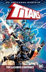 DC Comics's Titans: The Lazarus Contract TPB # 1