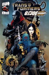 Dreamwave's Transformers / G.I. Joe Issue # 3