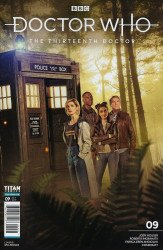 Titan Comics's Doctor Who: 13th Doctor Issue # 9b