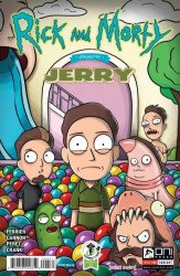 Oni Press's Rick and Morty Presents: Jerry Issue # 1eccc