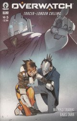 Dark Horse Comics's Overwatch: Tracer-London Calling Issue # 4