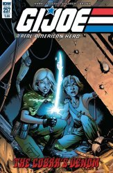IDW Publishing's G.I. Joe: A Real American Hero Issue # 257