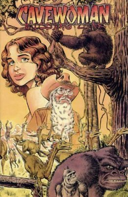 basement amryl entertainment 39 s cavewoman missing link tpb 1