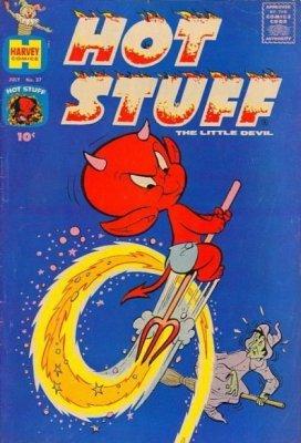 Hot Stuff, the Little Devil 1 (Harvey Publications ...