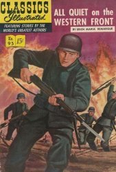 Gilberton Publications's Classics Illustrated #95: All Quiet on the Western Front Issue # 2