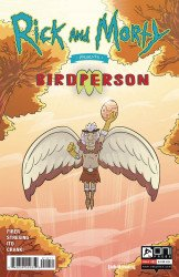 Oni Press's Rick And Morty Presents: Birdperson Issue # 1