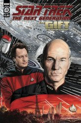 IDW Publishing's Star Trek: The Next Generation - The Gift Issue # 1