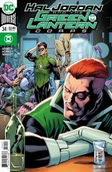 DC Comics's Hal Jordan and the Green Lantern Corps Issue # 34b