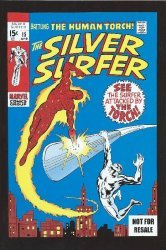 Marvel Comics's Silver Surfer Issue # 15dvd