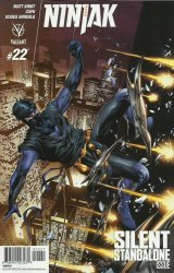 Valiant Entertainment's Ninjak Issue # 22b