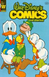 Whitman's Walt Disney's Comics and Stories Issue # 498