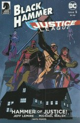Dark Horse Comics's Black Hammer / Justice League: Hammer of Justice Issue # 5c