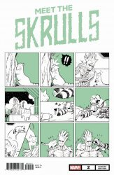 Marvel Comics's Meet the Skrulls Issue # 2c
