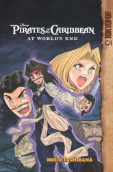 Tokyo Pop/Mixx's Disney Manga: Pirates Of The Caribbean - At Worlds End Soft Cover # 1