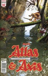 Titan Comics's Atlas & Axis Issue # 3
