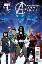 Marvel Comics's A-Force Issue # 1