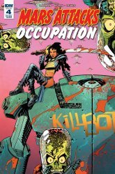 IDW Publishing's Mars Attacks: Occupation Issue # 4