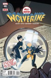Marvel Comics's All-New Wolverine Issue # 5